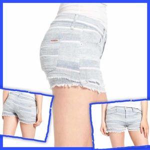 Hudson Midori Cutoff Denim Shorts, Indigo 26
